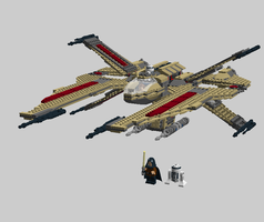 LEGO A-90 Scorpion Starfighter by Aryck-The-One