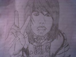 Oliver Sykes by robynrockin
