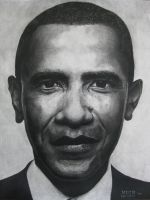 The Obama Portrait by chubloo
