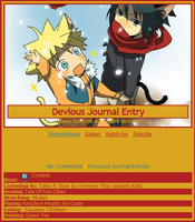 Naruto Journal Skin by Buono101