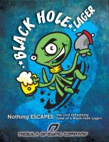 Black Hole Lager by pocza
