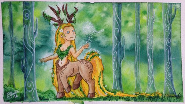 Guardian of the Forests' Heart by Gwenonwyn