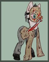 Jason Voorhees pony by Copperoxides
