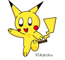 Pikachu with shading by Pixel-777