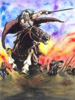 Attila the Hun by avix
