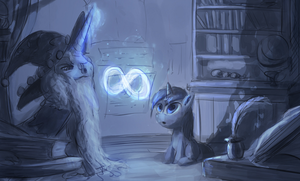 the magics WIP by Raikoh-illust