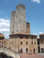 towers of San Gimignano by LilDash