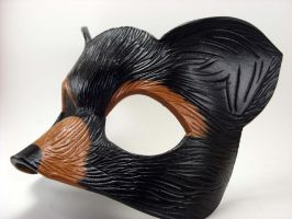 Bear Spirit Animal Mask version 2 by LucyLovesLeather