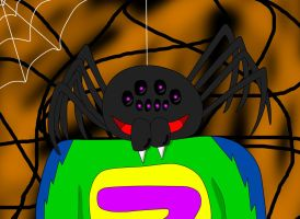 I'm a spider by Quilmer
