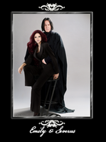 Emily+Severus-MINE by RedPassion