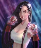 Tifa Lockhart by deyege