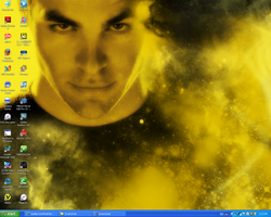 Wallpaper - James T. Kirk by Wolfs-Angel17