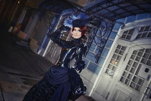 Victorian Goth by adelhaid