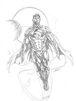 Superman DCnU Aged by caananwhite