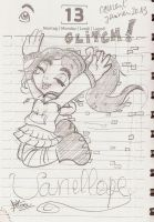 Vanellope Glitches by RougeBatGirl86
