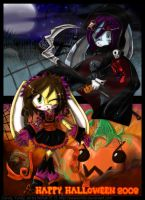 Happy Halloween 2008 by SweetChibi