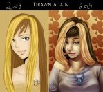 Suzume 2009 and 2015 by SeraphicMayin