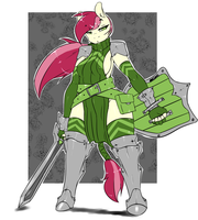 Armored Rose by avante92