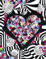Heart Collage by slinksterdog