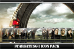 StarGate SG-1 Icon Pack by FirstLine1