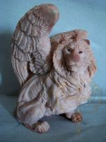 Winged Lion Side 2 by akeyla