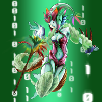 Digimon Frontier Tuned - QueenNymphamon by plzgaiasrebirth