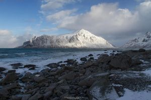 White blue and grey by DominikaAniola