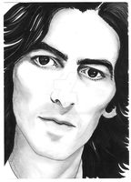 george harrison by bizdikbirt