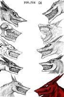 Jackal's Head collection by Iron-Fox