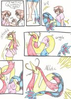 Milotic Commission by RaiinbowRaven