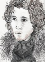 Jon Snow by Ificial-Art