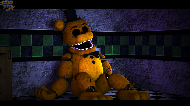 Withered Golden Freddy by said7895