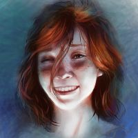 Portrait_7 by GronnUlv