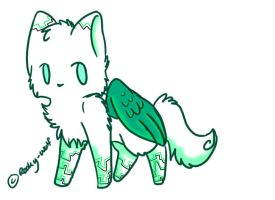 Winged Cat Adopt: CLOSED by Inner-Realm-Adopts