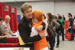 Trickster KK with Vic Mignogna by Midnight-Dance-Angel