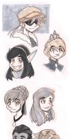 A Tiny Little Project Sketchdump Part 2 by MoeAlmighty
