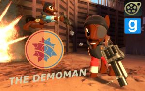 [DL] Demoman Pony by Pika-Robo