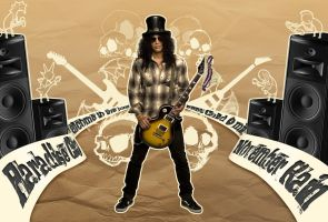 Slash Rocks by LeHudiaa