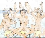 Showering with my friends by javidavie