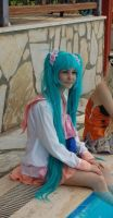 Miku cosplay 2 by DarKNisE