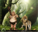 Forest king__! by DIGI-3D