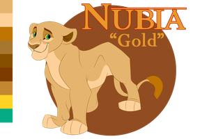 Nubia Reference Sheet by QuillElizabeth