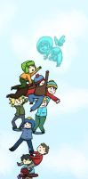 SP : A Ladder To Heaven by Papercut-Chika