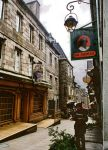Bar in Lannion Brittany by ScraNo
