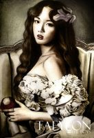 kim taeyeon the boys color by anosa228
