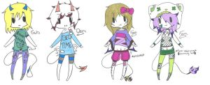 Jinni (closed species) offer adopts by Iloveyaoi4ever