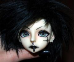 Faceup Commission again by FilthyWarumono