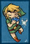 Ocarina of the Wind by Torogoz