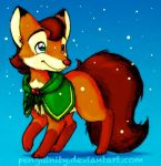 Little Christmas Fox by Penguinity