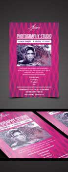 Jaten Photography Studio Flyer by pascreative